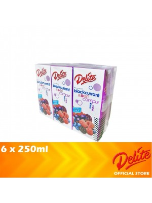 Delite Asian Drink Blackcurrant & Mixed Berries 6 x 250ml