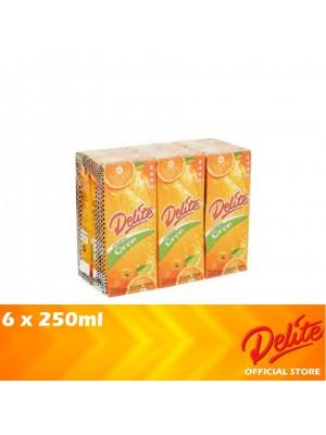 Delite Asian Drink Orange 6 x 250ml