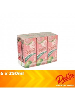 Delite Asian Drink Pink Guava 6 x 250ml