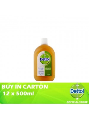 Dettol Antiseptic Liquid 12 x 500ml
