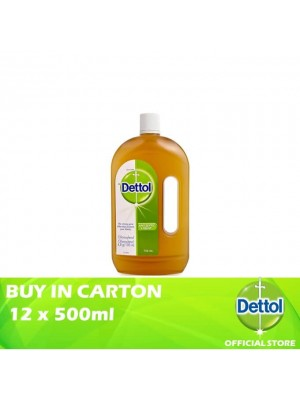 Dettol Antiseptic Liquid 12 x 750ml