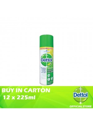 Dettol Disinfectant Spray Morning Dew 12 x 225ml