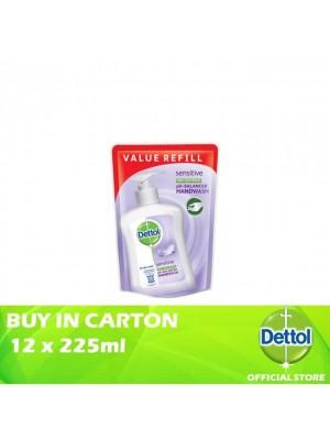 Dettol Hand Wash Pouch Sensitive 12 x 225ml