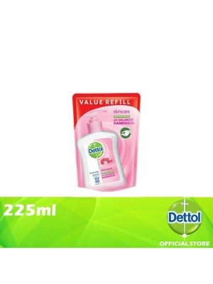 Dettol Hand Wash Pouch Skincare 225ml