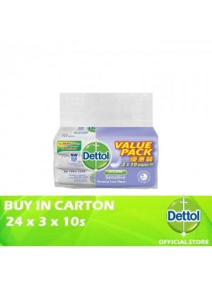 Dettol Personal Care Wet Wipes Sensitive Value Pack 24 x 3 x 10s