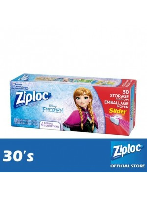 Ziploc Disney Frozen Quart Storage Slider 30's
