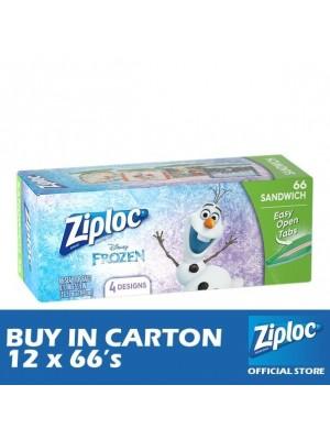 Ziploc Disney Frozen Sandwich 12 x 66's