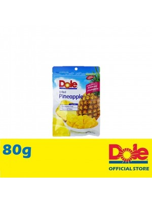 Dole Dried Pineapple Chunks in Pillow Pouch 80g