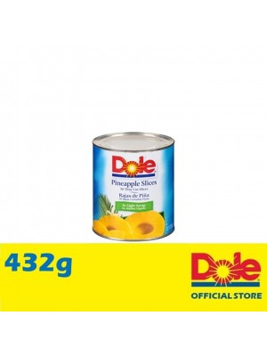 Dole Pineapple Slices in Extra Light Syrup 432g