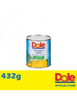 Dole Pineapple Tidbits in Extra Light Syrup 432g