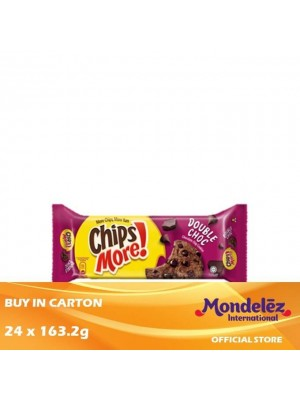 Chipsmore Double Chocolate 24 x 163.2g [Essential]