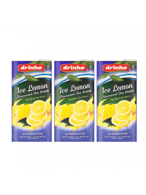 Drinho Ice Lemon Tea 3 x 1L
