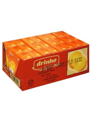 Drinho Orange Drink 24 x 250ml