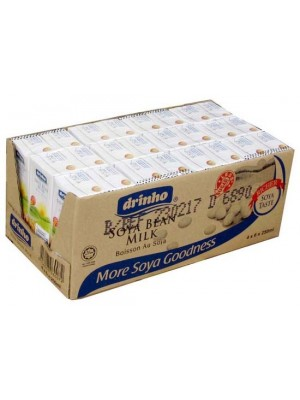 Drinho Soya Bean Milk 24 x 250ml