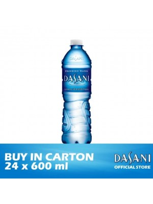 Dasani Drinking Water- PET 24 x 600ml