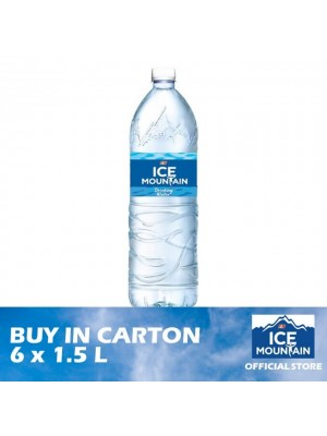 Ice Mountain Drinking Water 6 x 1.5L