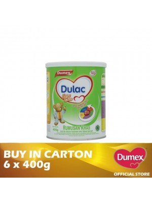 Dumex Dulac Extra Care Milk Powder 6 x 400g