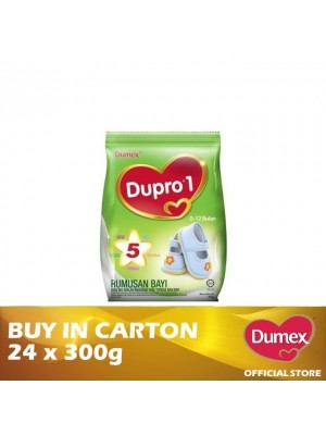 Dumex Dupro 1 Infant Formula Milk Powder 0 – 12 Bulan 24 x 300g