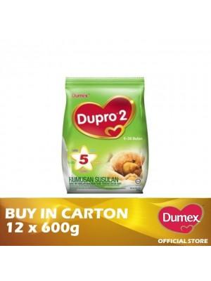 Dumex Dupro 2 Milk Powder 6 – 36 Bulan 12 x 600g