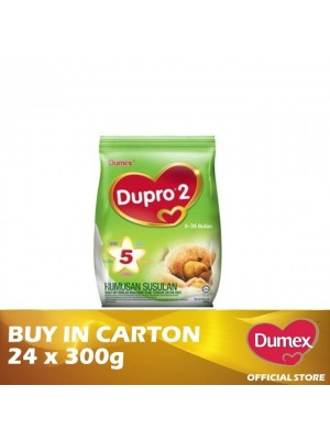 Dumex Dupro 2 Milk Powder 6 – 36 Bulan 24 x 300g