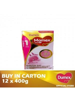 Dumex Mamex Cherish 1 Infant Formula Milk Powder 0 -2 Bulan  12 x 400g