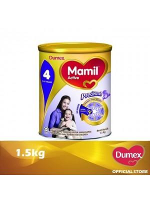 Dumex Mamil Active 4 Milk Powder 4 - 9 Tahun 1.5kg