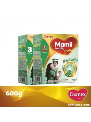 Dumex Mamil Learning 3 Milk Powder 1 - 3 Tahun Twin Pack 600g