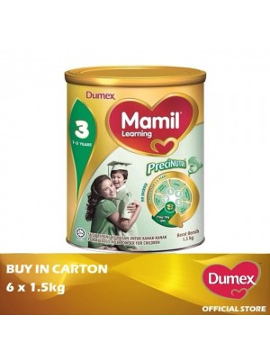 Dumex Mamil Learning 3 Milk Powder 1 - 3 Tahun 6 x 1.5kg