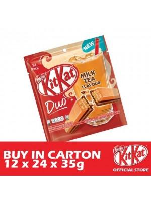 Nestle KitKat 4-Fingers Duo Milk Tea 12 x 24 x 35g