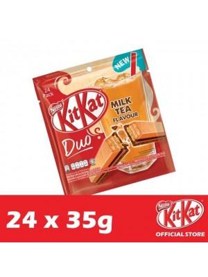 Nestle KitKat 4-Fingers Duo Milk Tea 24 x 35g