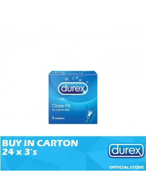 Durex Close Fit 24 x 3's
