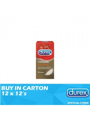 Durex Fetherlite Warming 12 x 12's