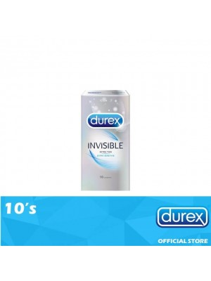 Durex Invisible Extra Sensitive 10's