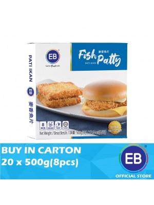 EB Fish Patty 20 x 500g(8pcs)