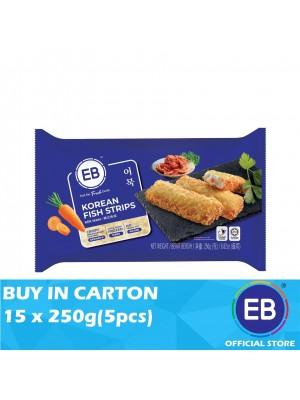 EB Korean Fish Strips 15 x 250g(5pcs)