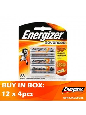 Energizer Advanced AA 12 x 4pcs
