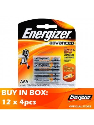 Energizer Advanced AAA 12 x 4pcs