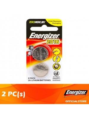 Energizer Lithium Coin 2016 BS 2pcs