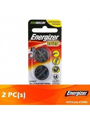 Energizer Lithium Coin 2025 BS 2pcs