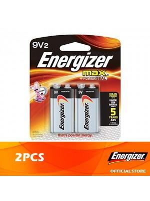Energizer Max 9V 2pcs