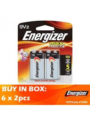 Energizer Max 9V 6 x 2pcs