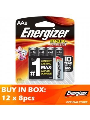 Energizer Max AA 12 x 8pcs