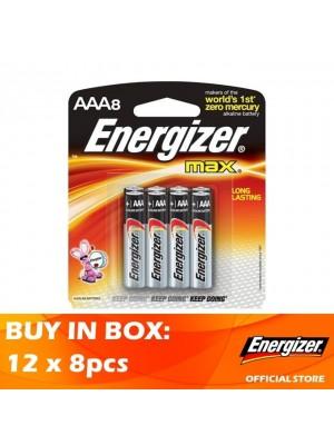 Energizer Max AAA 12 x 8pcs