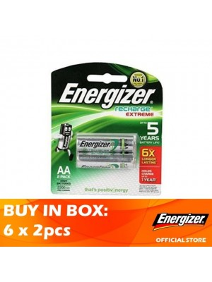 Energizer Recharge Extreme AA 2300MAH 6 x 2pcs