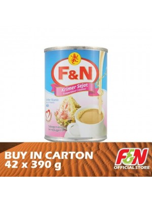 F&N Evaporated Creamer 42 x 390g