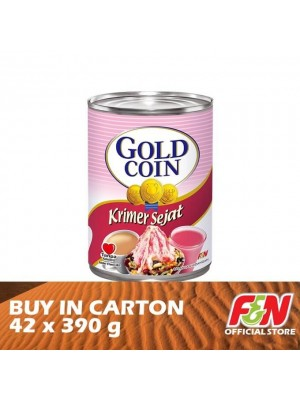 F&N Gold Coin Evaporated Creamer 42 x 390g