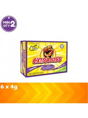 Extrajoss Grape 6 x 4g
