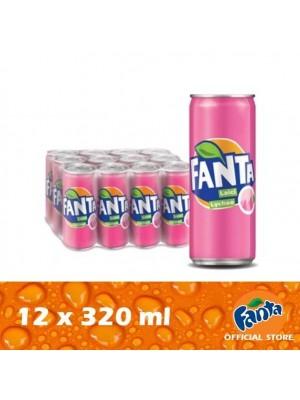 Fanta Lychee 12 x 320ml