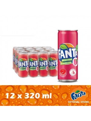 Fanta Strawberry 12 x 320ml