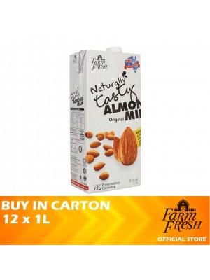 Farm Fresh UHT Almond Milk Original 12 x 1L